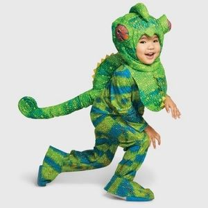 Toddler Chameleon Halloween Costume 2-3T Boy